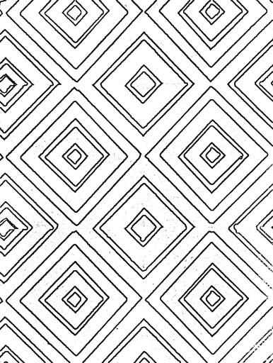 Геометрические орнаменты. Раскраска 1