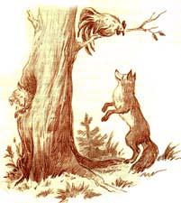 Сочиняем басню сами. «Петух, лиса и собака» (с моралью)