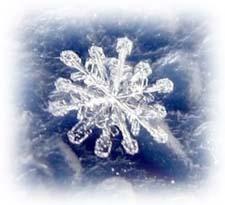 Короткая сказка про снежинку