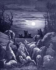 Сочиняем басню для детей про волков и овец с моралью