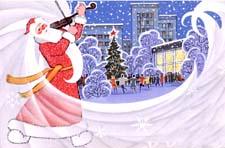 Новогодняя сказка «Дед Мороз и скрипка». Читать и слушать