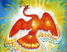 Сказочный рассказ про Жар-птицу. Слушать