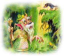Сказочный рассказ про Водяного. Слушать